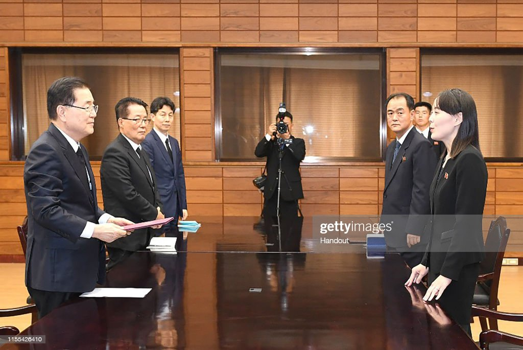 North Korea To Deliver Condolence Message For South Korea's Late First Lady : ニュース写真