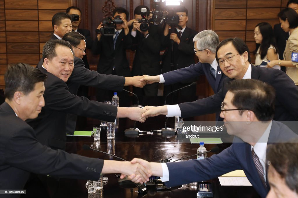 North and South Korea Hold Talks For A Third Inter-Korea Summit : News Photo