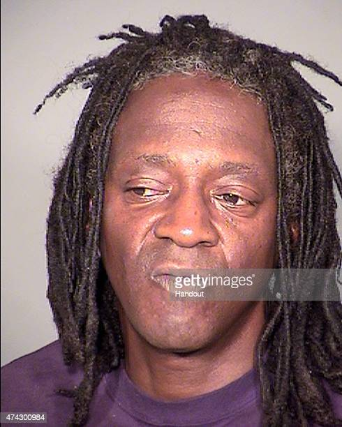 In this handout photo provided by the Nevada Highway Patrol rapper Flavor Flav born William Drayton Jr is seen in a police booking photo after his...