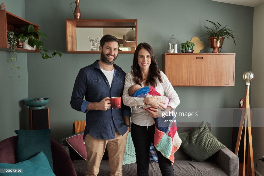Family Portraits of New Zealand PM Jacinda Ardern