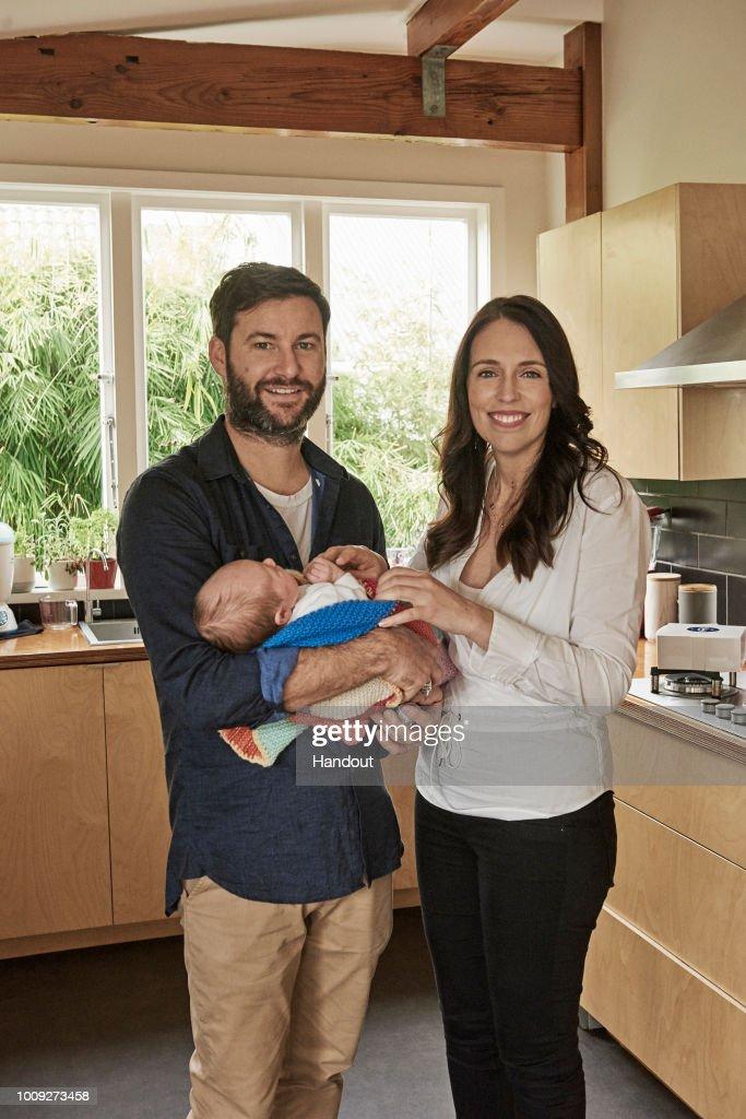 Family Portraits of New Zealand PM Jacinda Ardern : News Photo