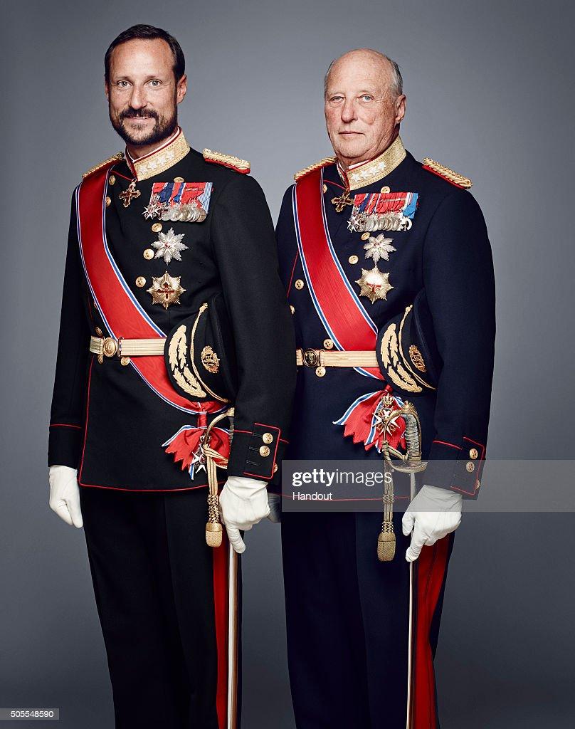 Norwegian Royal House Official Photographs 2016 : News Photo