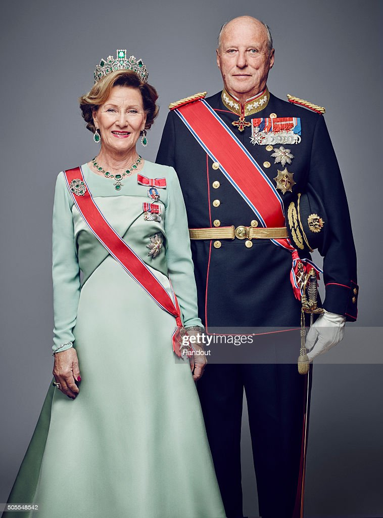 Norwegian Royal House Official Photographs 2016 : Nachrichtenfoto