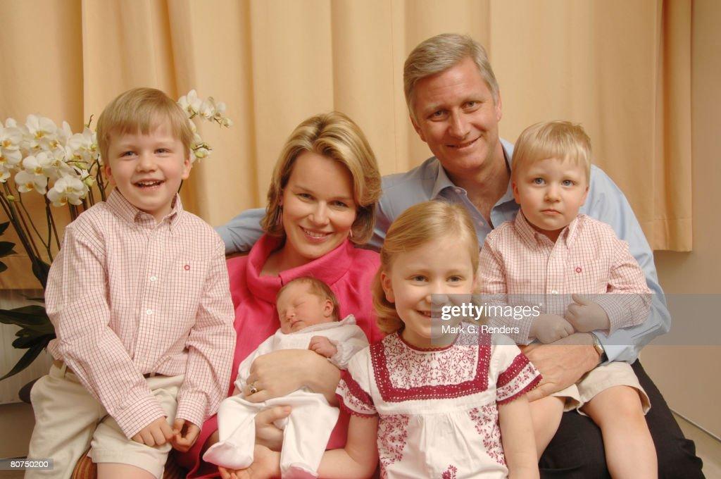 Prince Philippe & Princess Mathilde of Belgium Introduce Princess Eleonore