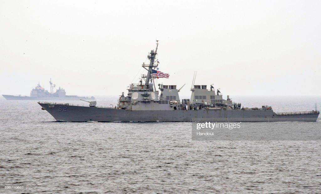 FILE: USS Fitzgerald : News Photo