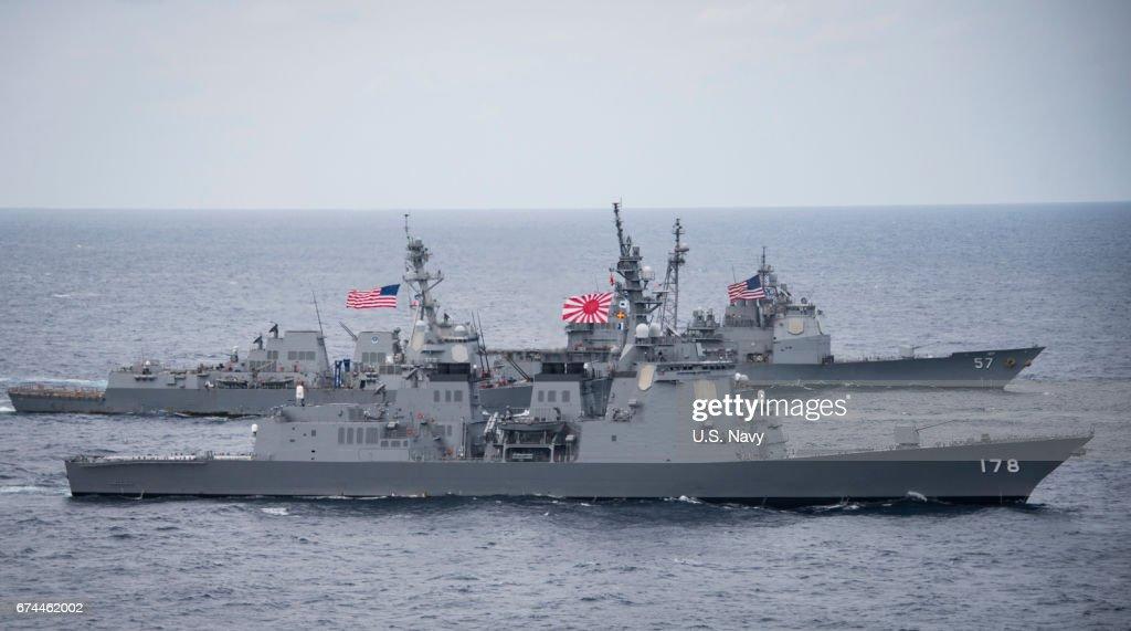 U.S. Navy Patrols Philippines Sea : ニュース写真