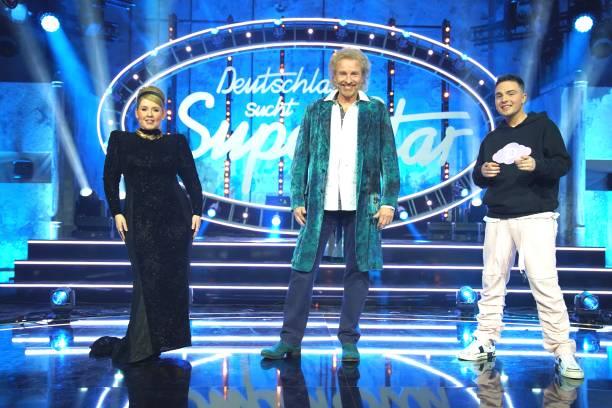 "DEU: Thomas Gottschalk Steps In For Dieter Bohlen At ""DSDS"" Semi Finals"