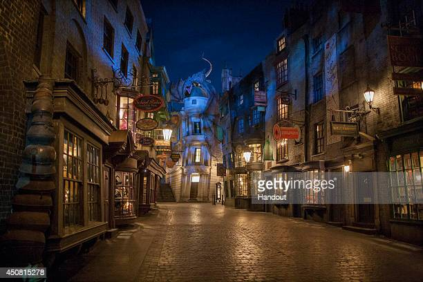 In this handout photo provided by Universal Orlando Resort and taken June 13 today June 18 Universal Orlando announced that The Wizarding World of...