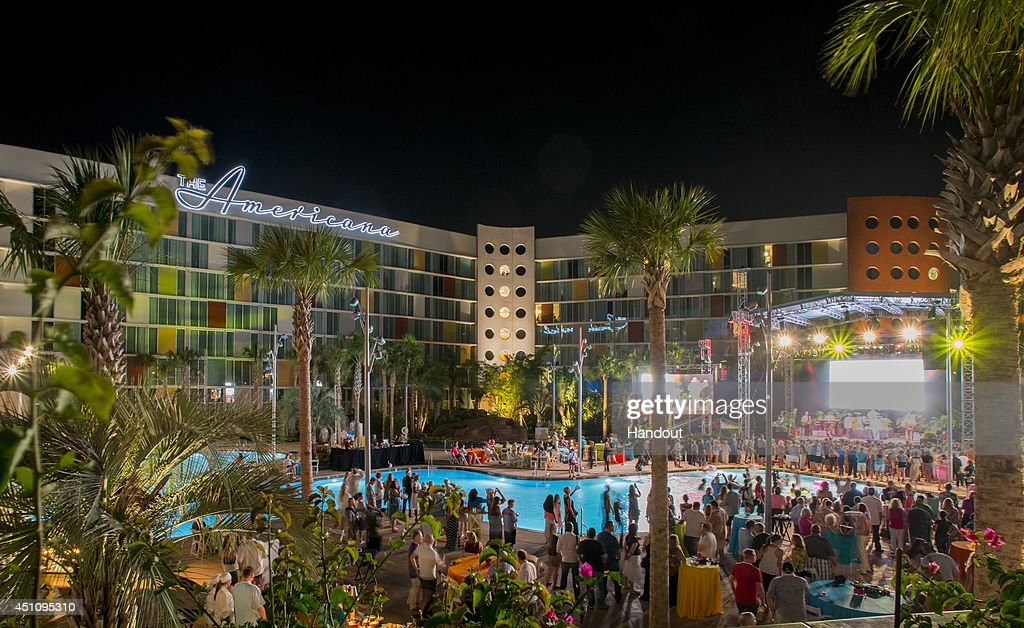 In This Handout Photo Provided By Universal Orlando Resort Cabana Bay Beach At