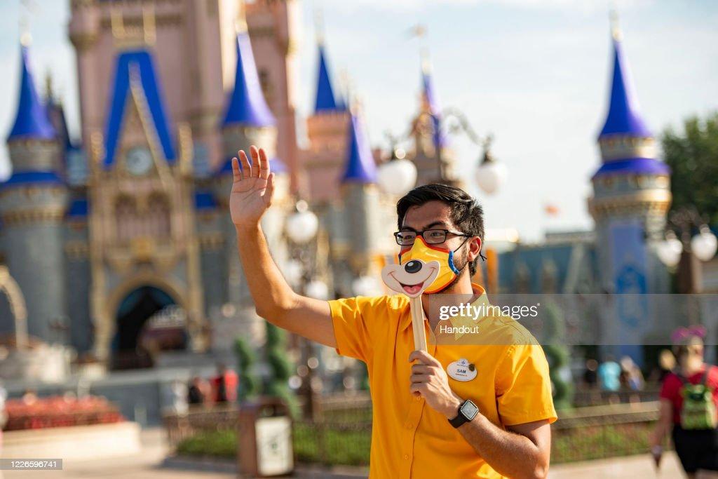 Walt Disney World Resort Reopening : News Photo