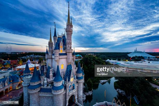 In this handout photo provided by Walt Disney World Resort, Magic Kingdom Park is seen on October 8, 2014. Magic Kingdom Park and Disney's Animal...