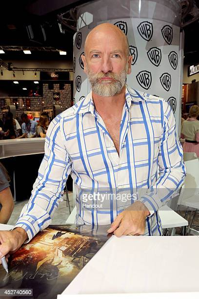 "In this handout photo provided by Warner Bros, Graham McTavish of ""The Hobbit: The Battle of the Five Armies"" attends Comic-Con International 2014 on..."
