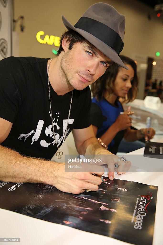Warner Bros. At Comic-Con International 2014 : News Photo