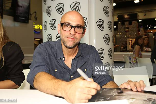 In this handout photo provided by Warner Bros Marcos Siega of 'The Following' attends ComicCon International 2014 on July 27 2014 in San Diego...