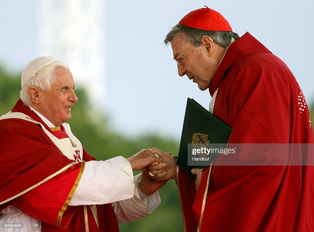 Pope Benedict XVI Holds Final Mass For World Youth Day 08 : News Photo
