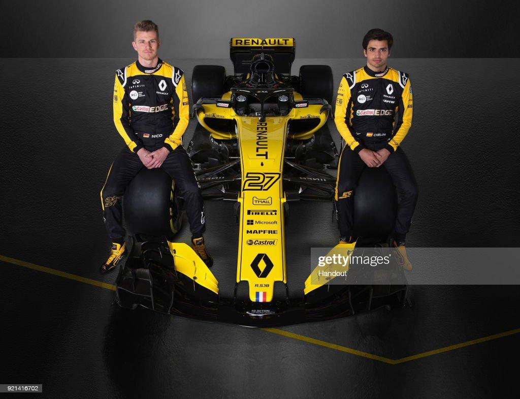2018 Formula One Season Car Launches