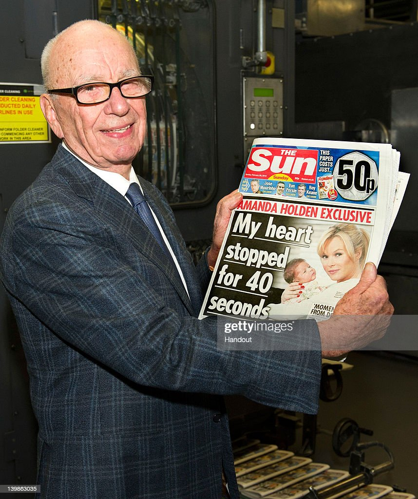 The First Editions Of The Sun On Sunday Hit The Newstands