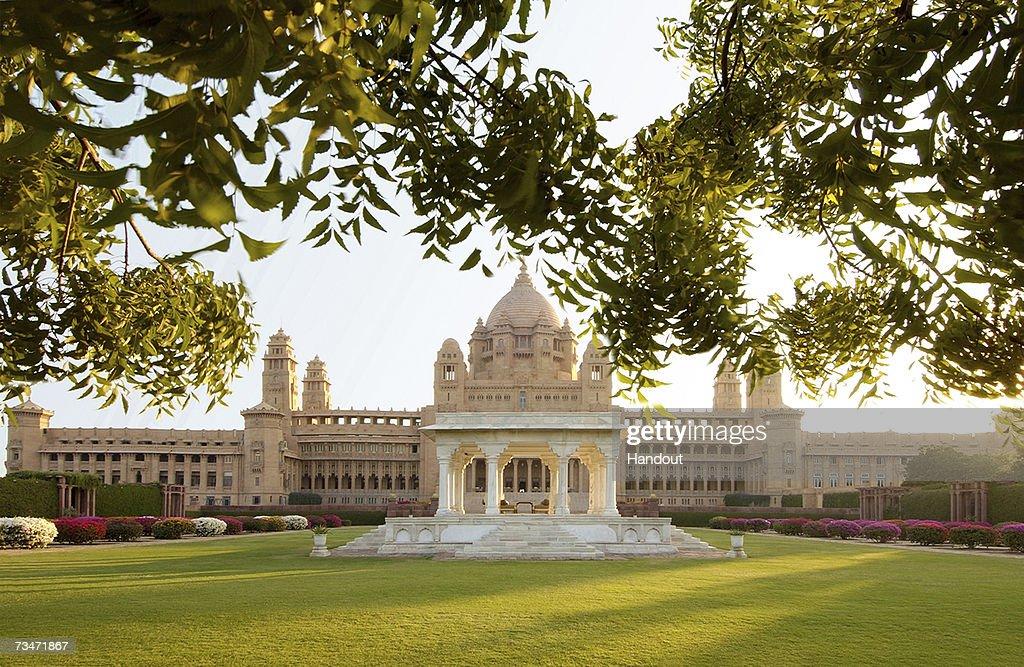 The Umaid Bhawan Palace : Nachrichtenfoto