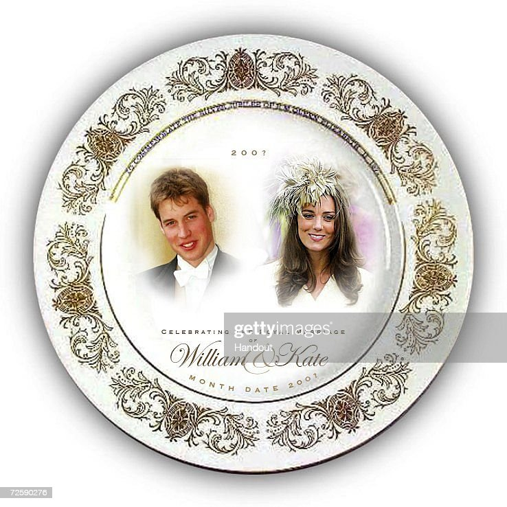 in this handout photograph provided by woolworths a souvenir plate is picture id72590276 - Royal Wedding Souvenirs