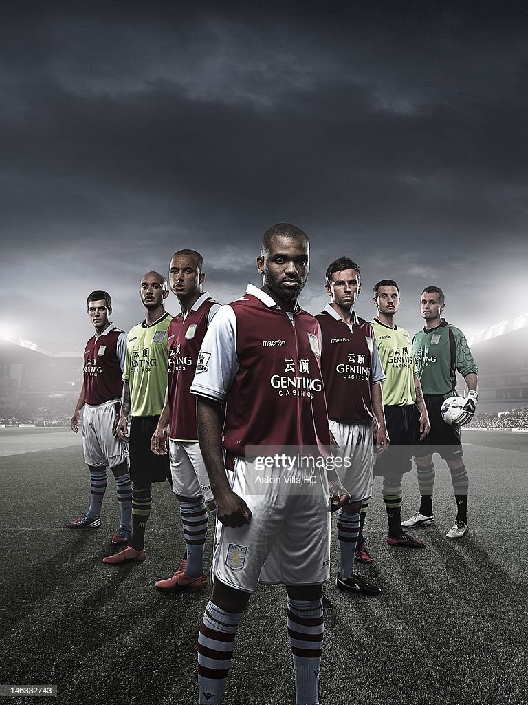 Aston Villa Kit Launch