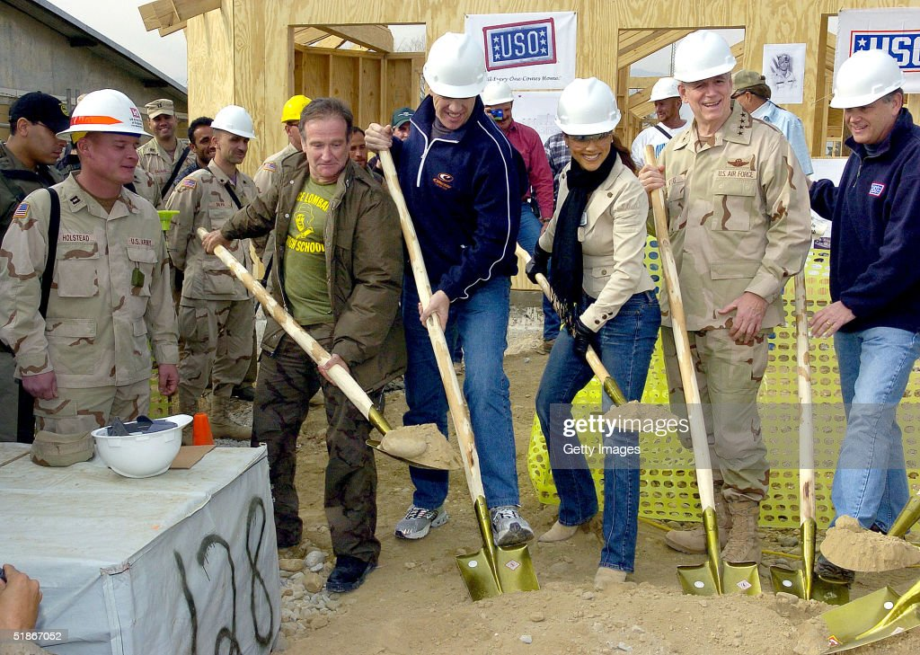 USO Center Named In Honor Of Pat Tillman : News Photo