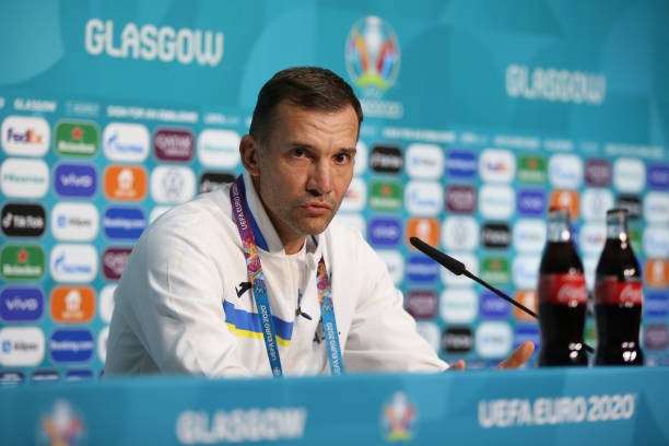 GBR: Ukraine Training Session and Press Conference - UEFA Euro 2020: Round of 16