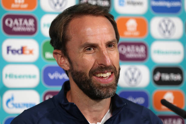GBR: England Training Session and Press Conference - UEFA Euro 2020: Final