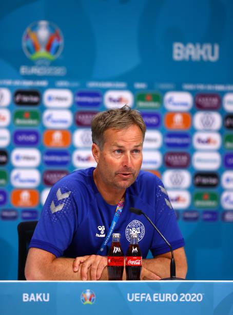AZE: Denmark Training Session and Press Conference - UEFA Euro 2020: Quarter-final
