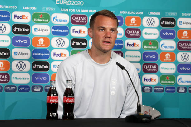 GBR: Germany Training Session and Press Conference - UEFA Euro 2020: Round of 16