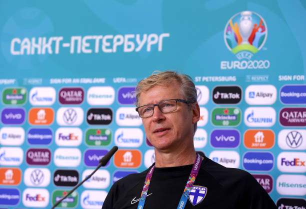 RUS: Finland Training Session and Press Conference - UEFA Euro 2020: Group B