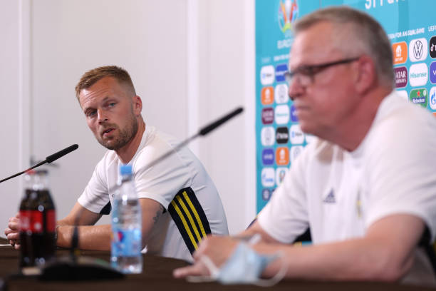 RUS: Sweden Training Session and Press Conference - UEFA Euro 2020: Group E