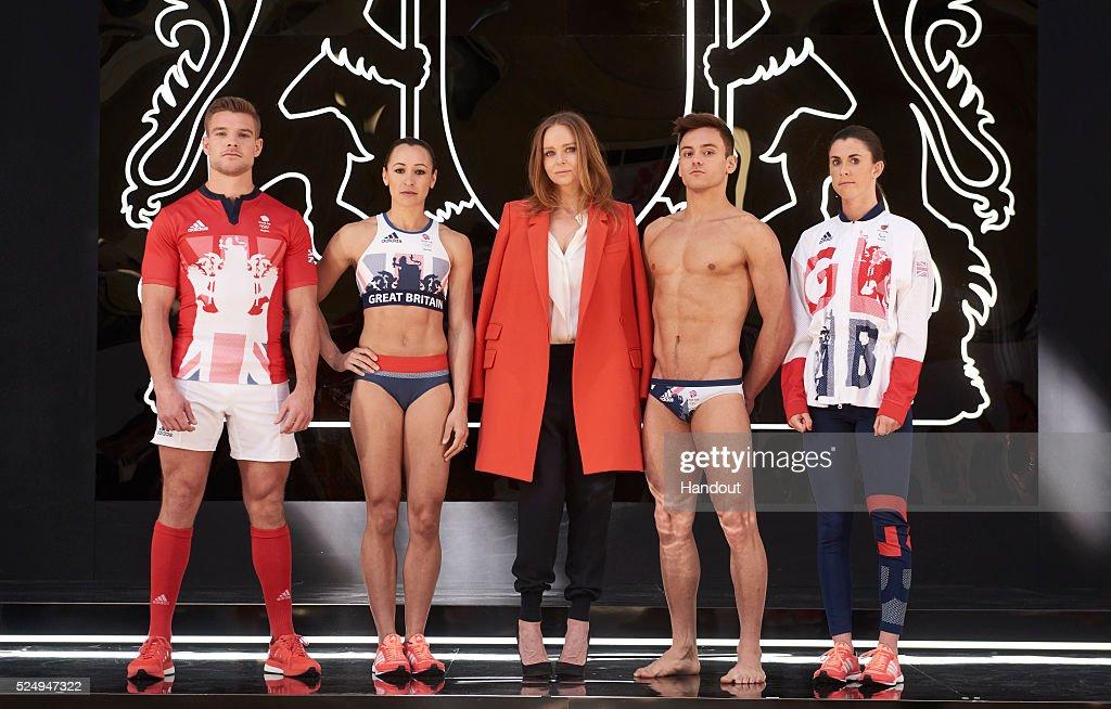 Team GB Kit Presentation For Rio 2016