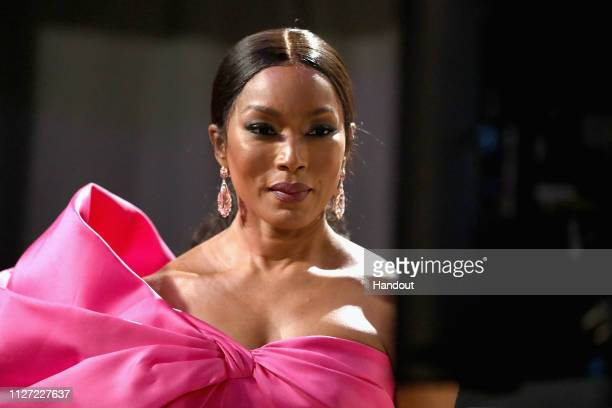 In this handout provided by AMPAS Angela Bassett poses backstage during the 91st Annual Academy Awards at the Dolby Theatre on February 24 2019 in...