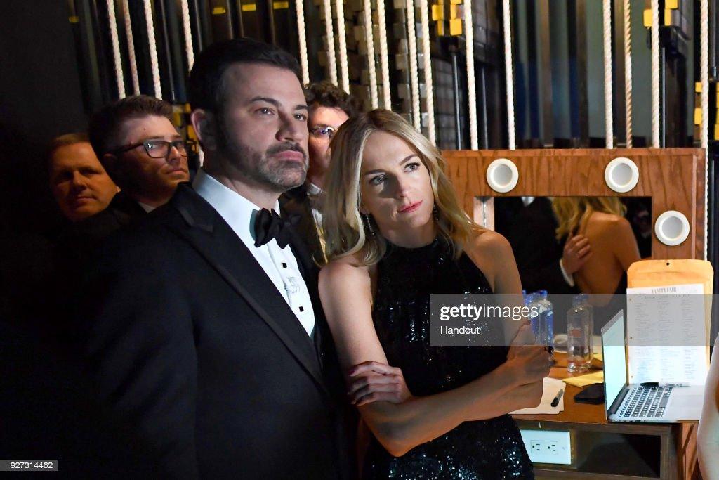 90th Annual Academy Awards - Backstage