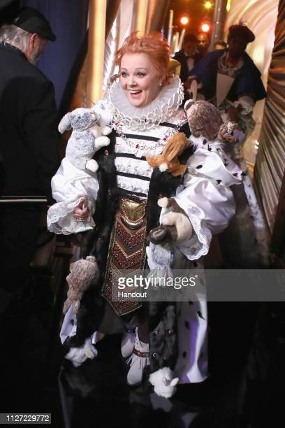 In this handout provided by AMPAS Melissa McCarthy poses backstage during the 91st Annual Academy Awards at the Dolby Theatre on February 24 2019 in...