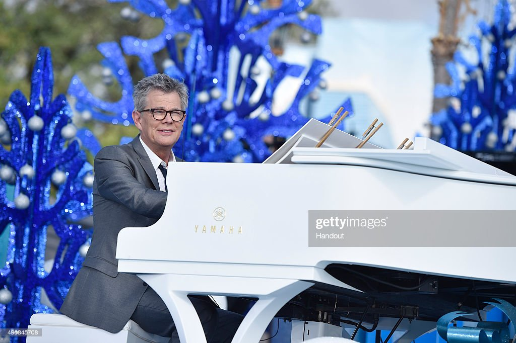 In this handout provided by Disney Parks, David Foster performs during the taping of the 'Disney Parks Unforgettable Christmas Celebration' TV special in Magic Kingdom park at Walt Disney World Resort November 11, 2015 in Lake Buena Vista, Florida. The 32nd annual holiday telecast airs nationwide Dec. 25 at 10 a.m. ET and 9 a.m. CST, MST and PST on ABC-TV.