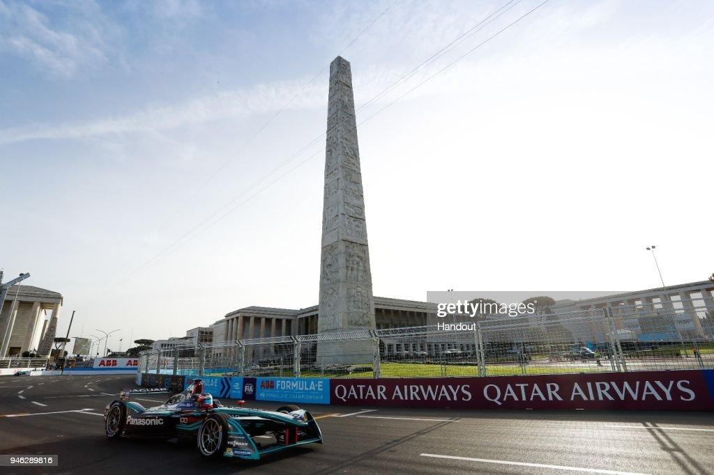 Rome E-Prix - ABB Formula E In Rome : News Photo