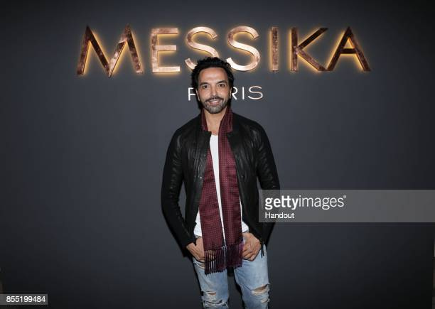 In this handout provided by Messika Kamel Ouali attends the Messika cocktail as part of the Paris Fashion Week Womenswear Spring/Summer 2018 on...