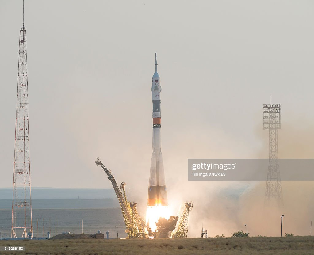 Expedition 48 Launch : ニュース写真
