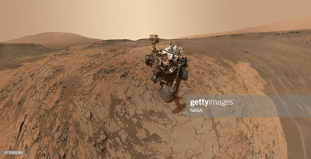 Curiosity Self-Portrait at 'Mojave' on Mount Sharp : News Photo