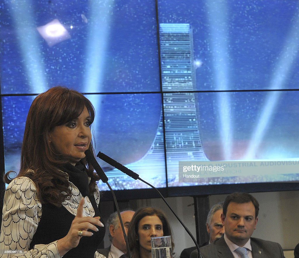 Cristina Fernandez de Kirchner Announces Mega-Investment in Demarchi Island