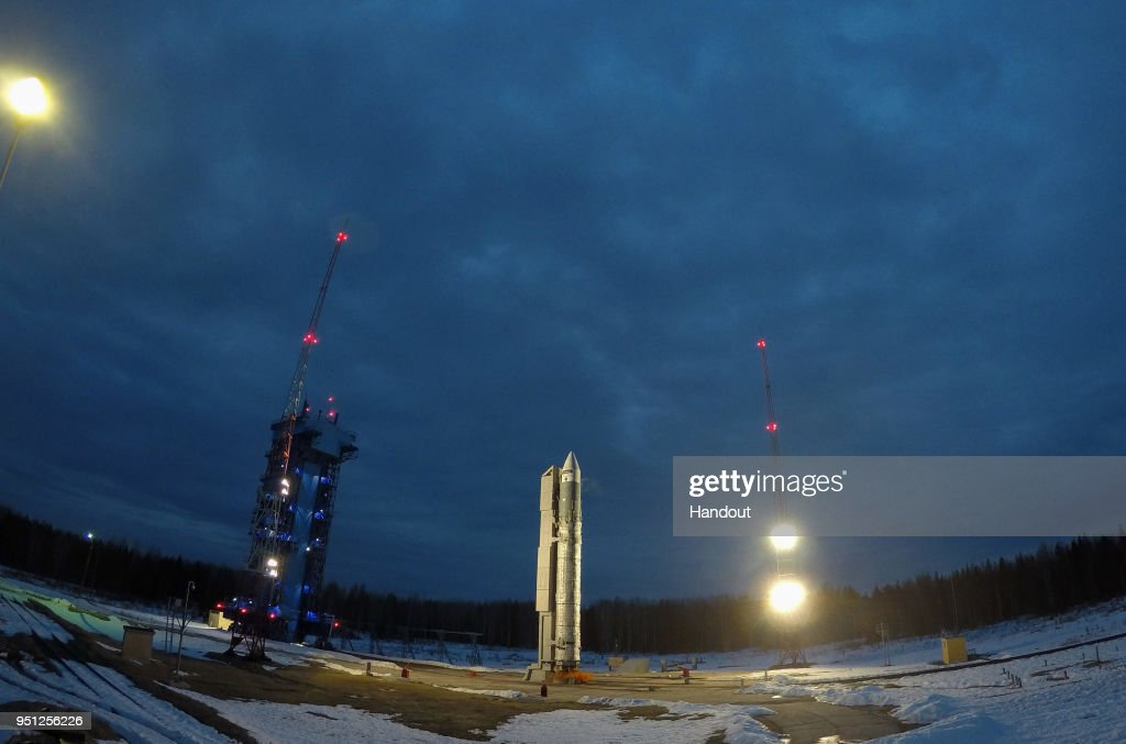 Twin Copernicus Sentinel-3 Satellite Launched in Northern Russia : News Photo