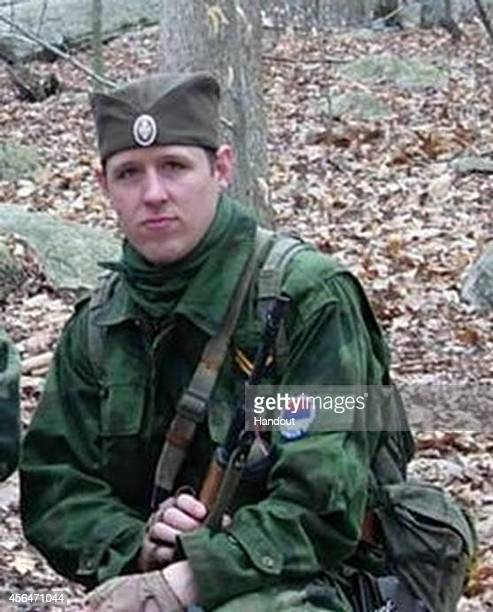 In this handout provided by the Federal Bureau of Investigation Eric Matthew Frein poses on an unspecified date and location Eric Frein is being...