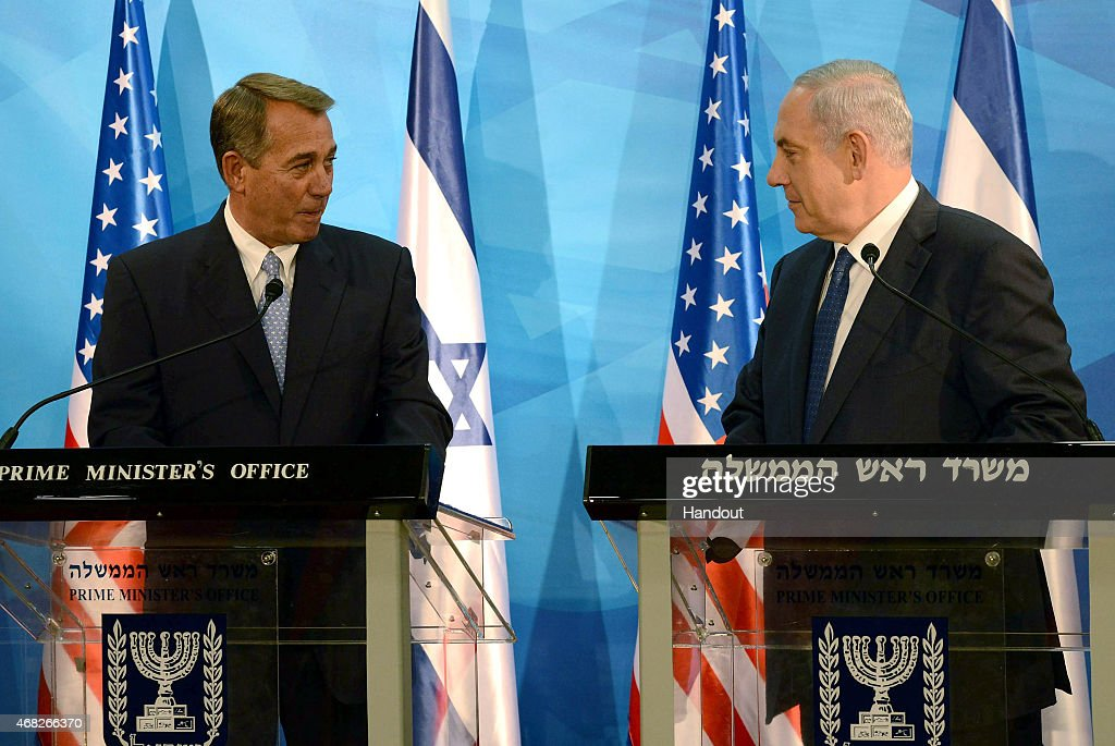 Boehner Visits Middle East to Discuss ISIS, Iran : News Photo