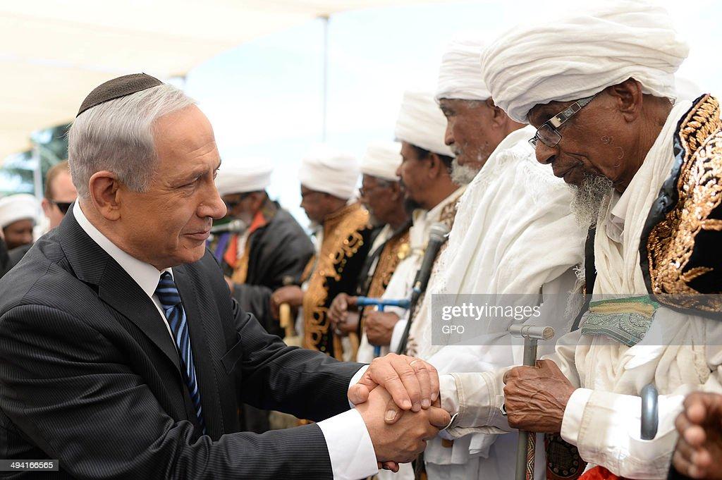 Israel Commemorates Memorial Day for Ethiopian Jews : News Photo