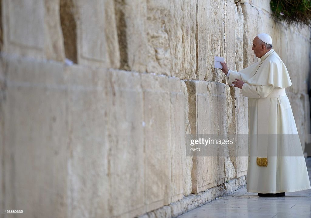 Pope Francis Visit To The Holy Land -  Day Two : Fotografía de noticias