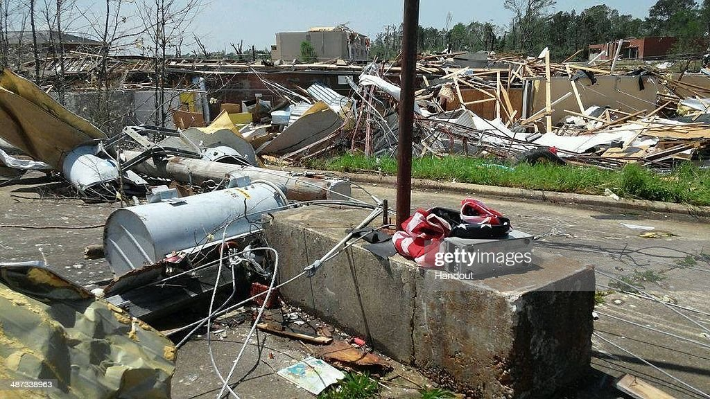Widespread Damage And Casualties After Tornadoes Rip Through Arkansas : News Photo