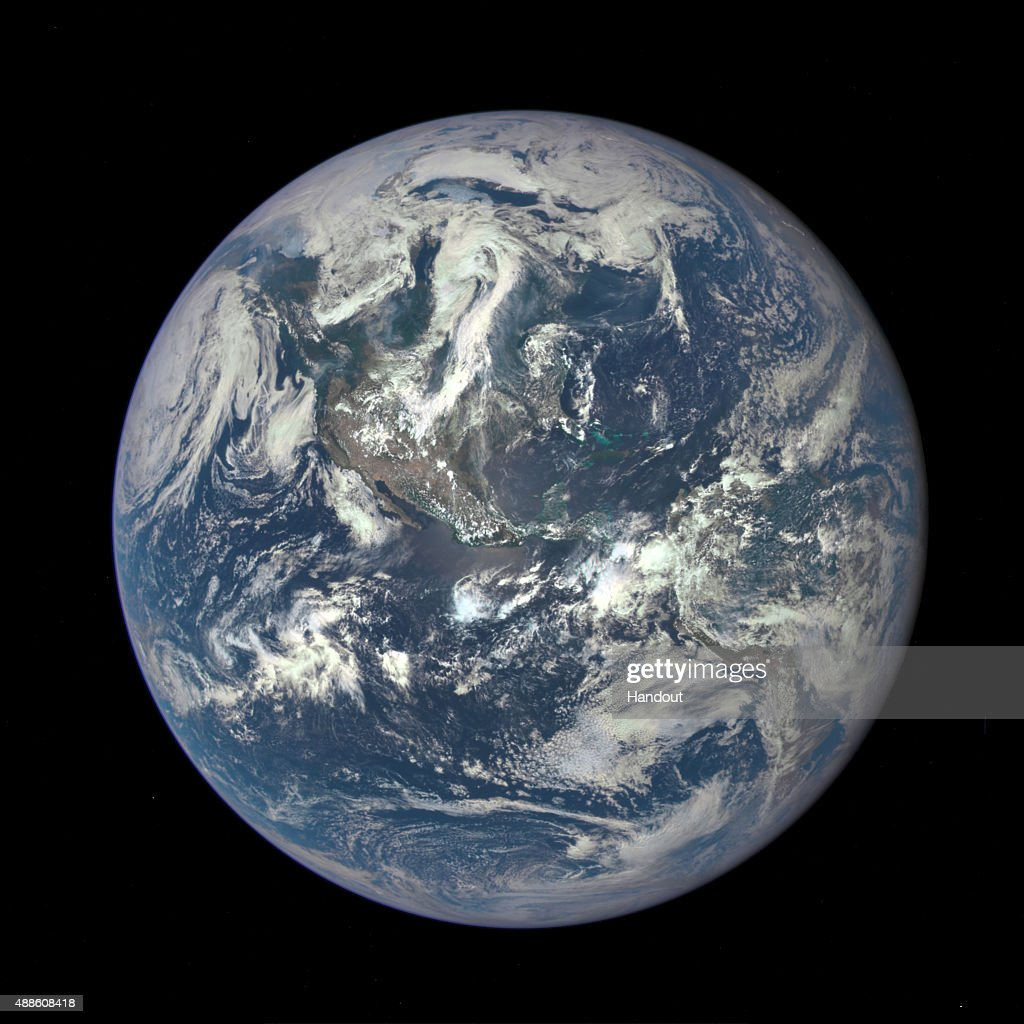 Earth From One Million Miles : News Photo