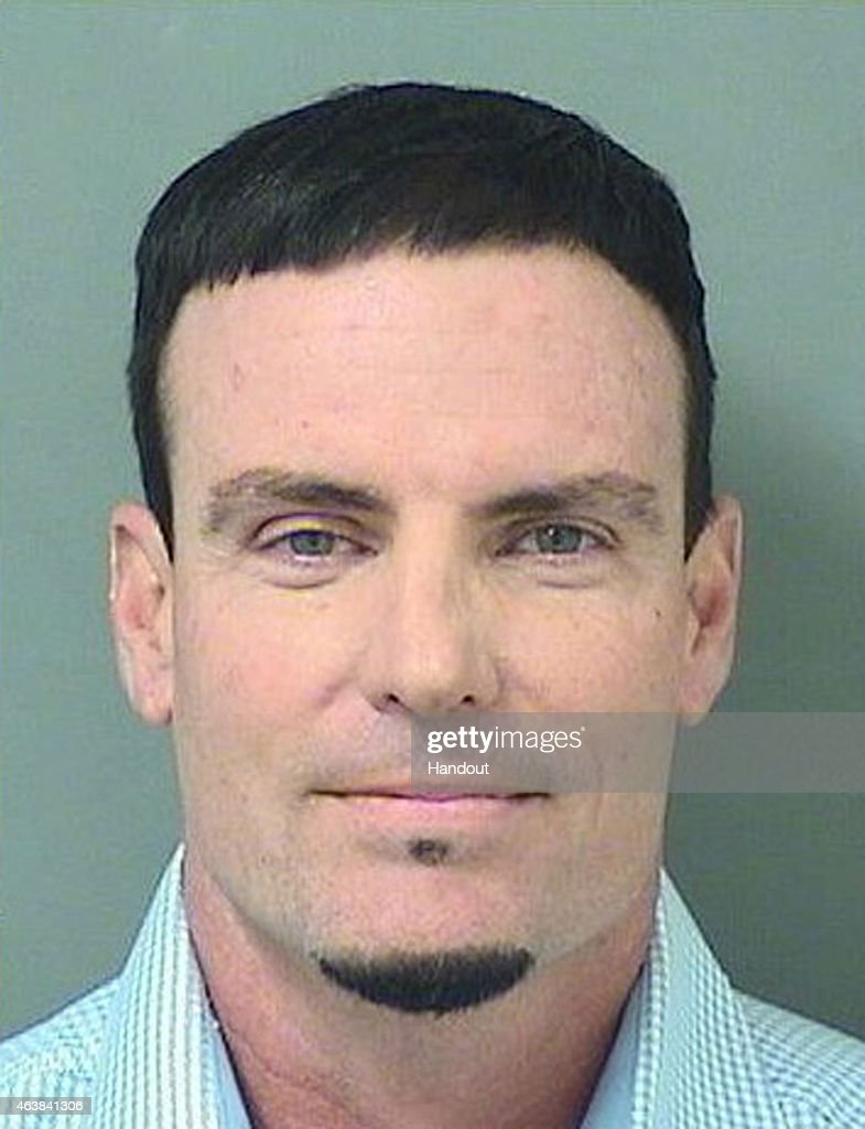 In this handout provided by the Palm Beach County Jail, Rapper Vanilla Ice, also known as Robert Van Winkle poses for his mugshot after being arrested on burglary charges on February 18, 2015 in Lantana, Florida. Police arrested him for taking various items from a residential home in Florida.