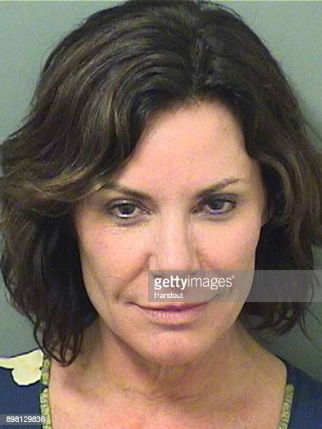 In this handout provided by the Palm Beach County Sheriff's Office Reality TV Personality Luann de Lesseps poses for her booking photo after being...